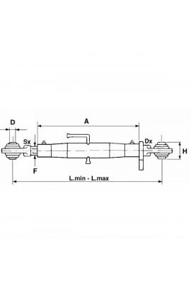 Terzo punto bas C1-2 27X3 480-680MM