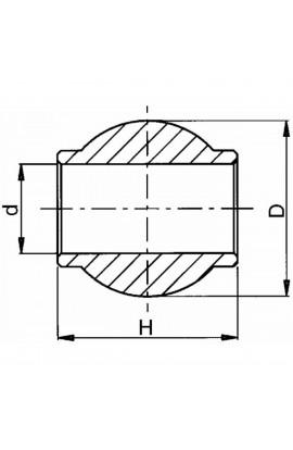 Rotula superiore cat.3 Ø60X51XØ32