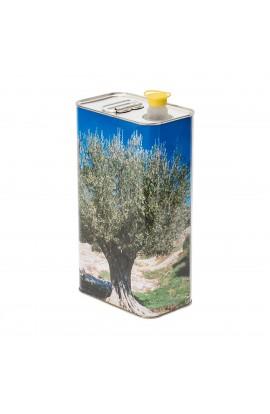 Lotto da 12 pezzi Lattina olio 5 litri