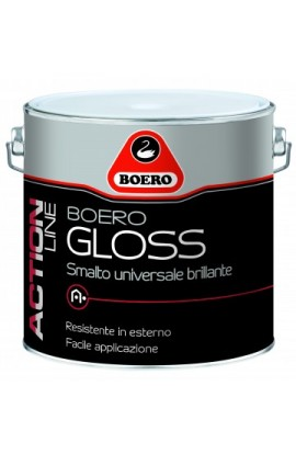 BOERO gloss nero 0.500 LT